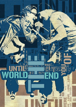 U2 - Until the End of the World - A4 Mini Print