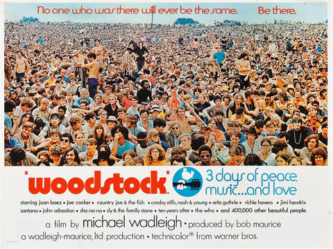Woodstock - A4 Music Mini Print B