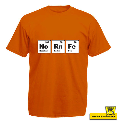 Norn Iron Periodic Table T-shirt