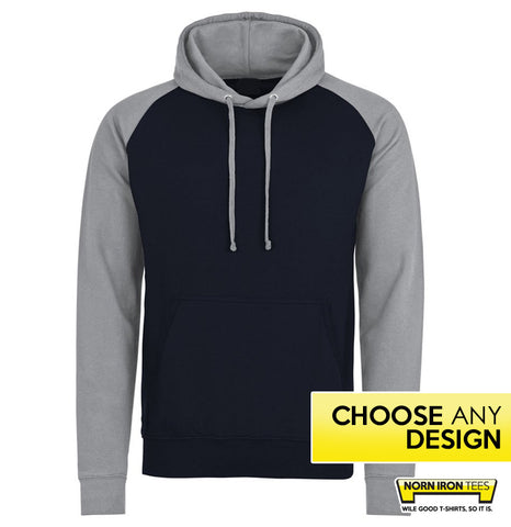 Baseball Hoodie - Choose Any Norn Iron Design