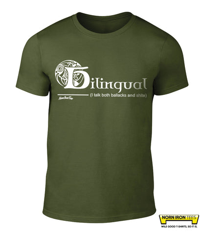 BILINGUAL (I talk both ballacks and shite)