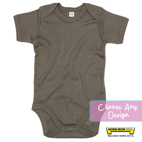 Baby bodysuit - Choose Any Norn Iron Tees Design