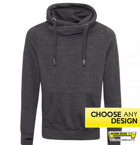 Crossneck Hoodie - Choose Any Norn Iron Design