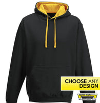 Duo Tone Hoodie - Choose Any Norn Iron Design