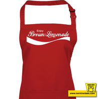 Enjoy Brown Lemonade Apron