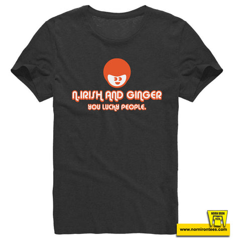 N.Irish AND Ginger. You Lucky People. Kids T-shirt