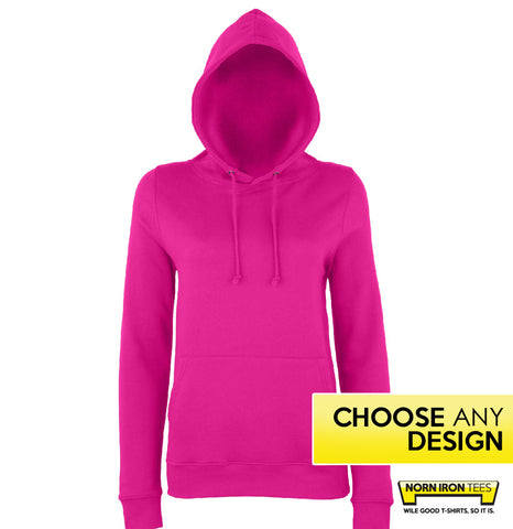 Women's Fit Hoodie *NEW* - Choose Any Norn Iron Design