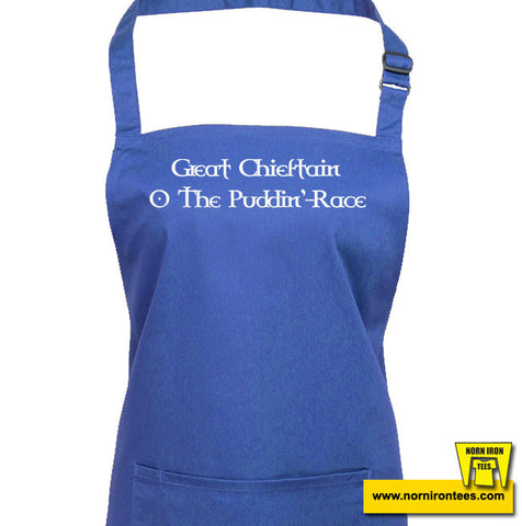 Great Chieftain O The Puddin'-Race Apron
