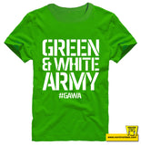 GREEN AND WHITE ARMY