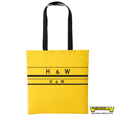 H&W Stripes - Duo Colour Tote Bag