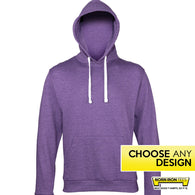 Heather Lightweight Hoodie - Choose Any Norn Iron Design