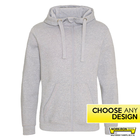 Heavyweight Zip Hoodie - Choose Any Norn Iron Design
