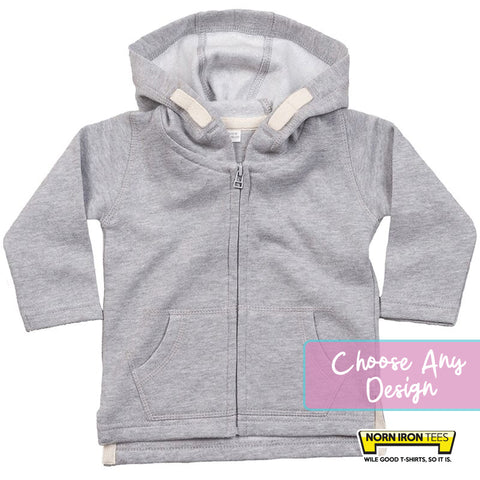 Baby Hoodie- Choose Any Norn Iron Tees Design