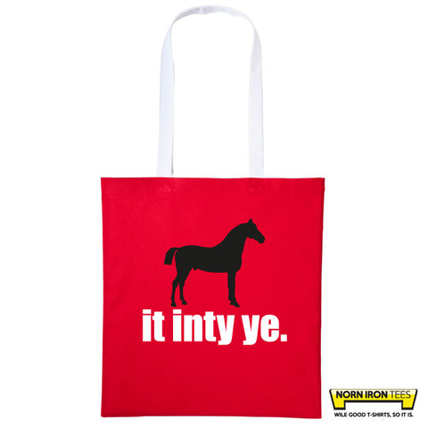 Horse It Inte Ye - Duo Colour Tote Bag