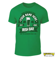 Irish Bar 2021 - Personalise with your name!