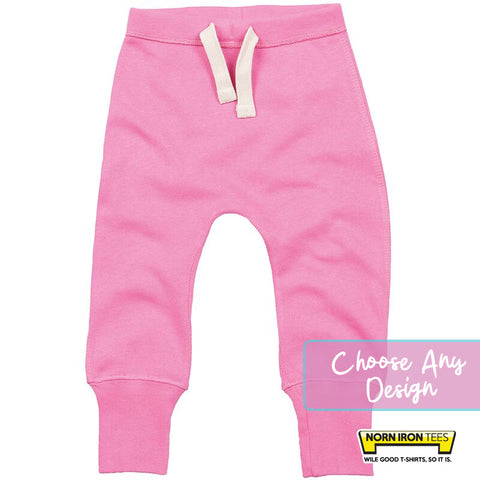 Baby Sweatpants - Choose Any Norn Iron Tees Design