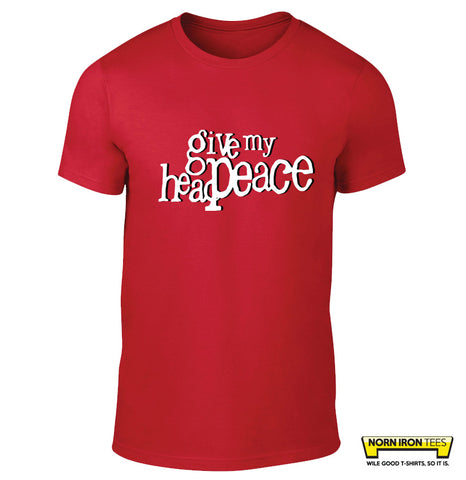 Give My Head Peace logo T-shirt