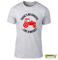 There's No Chassis Like A Massey T-shirt