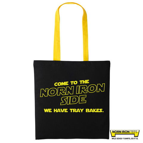 Come to the Norn Iron Side - Duo Colour Tote Bag