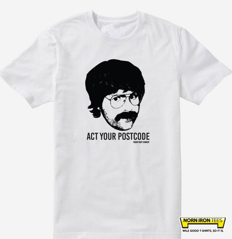 Paddy Raff Act Your Postcode T-shirt