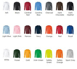 Regular Long Sleeved T-shirt - Choose Any Norn Iron Design