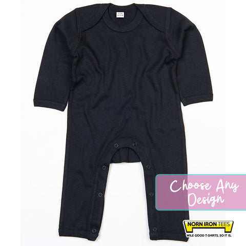 Baby Rompersuit - Choose Any Norn Iron Tees Design