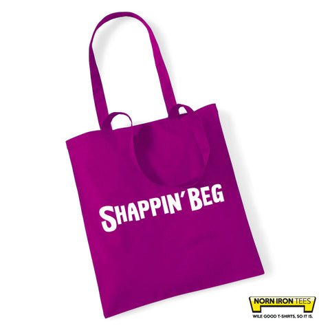 Shappin' Beg Tote Bag