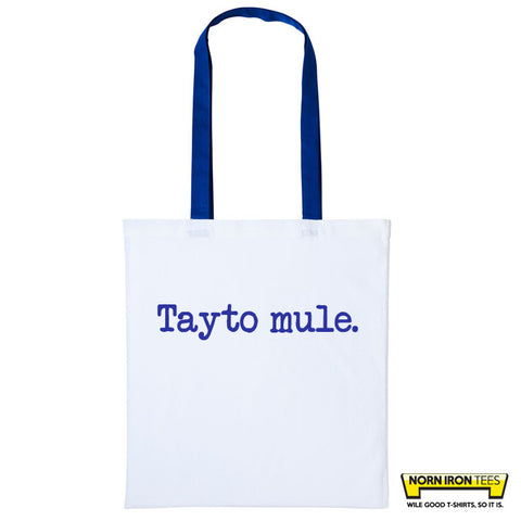 Tayto Mule - Duo Colour Tote Bag