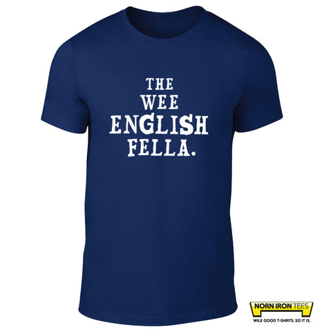 The Wee English Fella Kids Tee