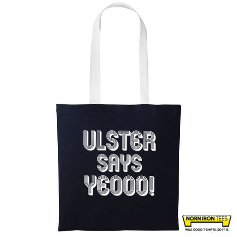 Ulster Says Yeooo! - Duo Colour Tote Bag