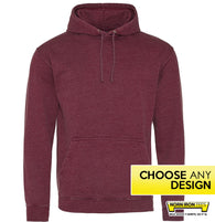 Washed Out Hoodie - Choose Any Norn Iron Design