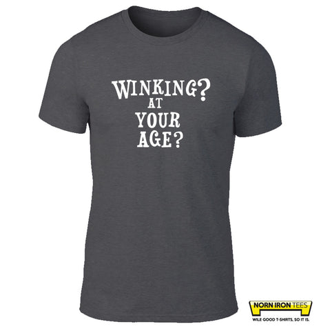 Winking? At Your Age?