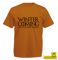 Winter Is Coming. Happy Days For Gingers.