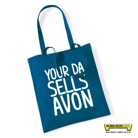 Your Da Sells Avon Tote Bag