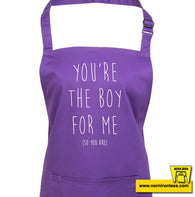 You're The Boy For Me Apron