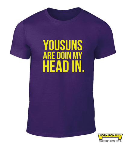Yousuns Are Doin My Head In.