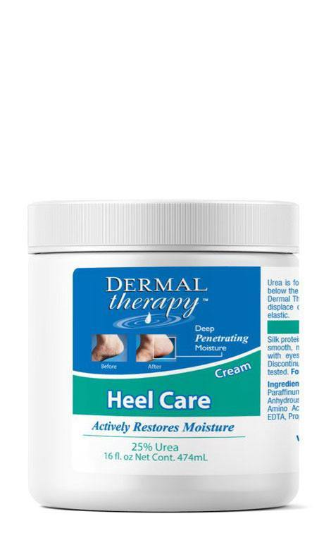 DTR Dermal Therapy Heel Care- 16 oz- 25% Urea 6% Lactic Acid (Alpha Hydroxy Acid)