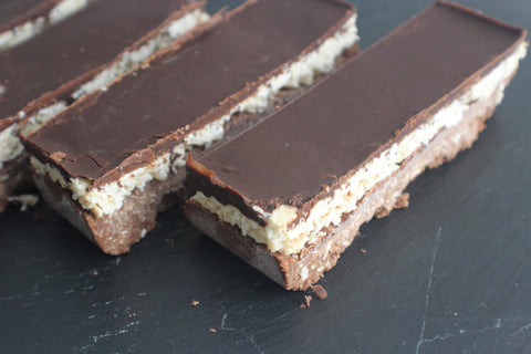 Jakes Boost Chocolate And Coconut Bounty Bars By Spamellab