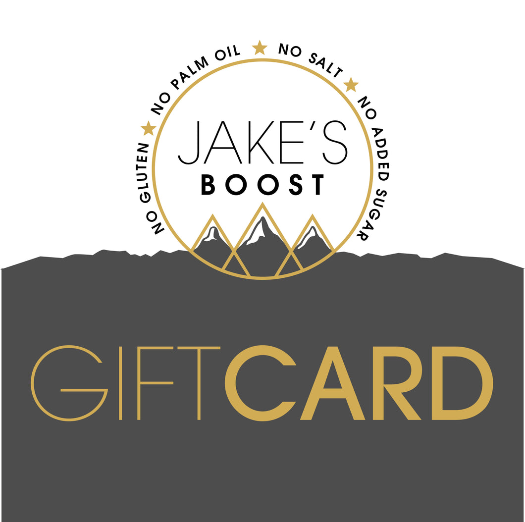 The Jake's Boost GIFT CARD