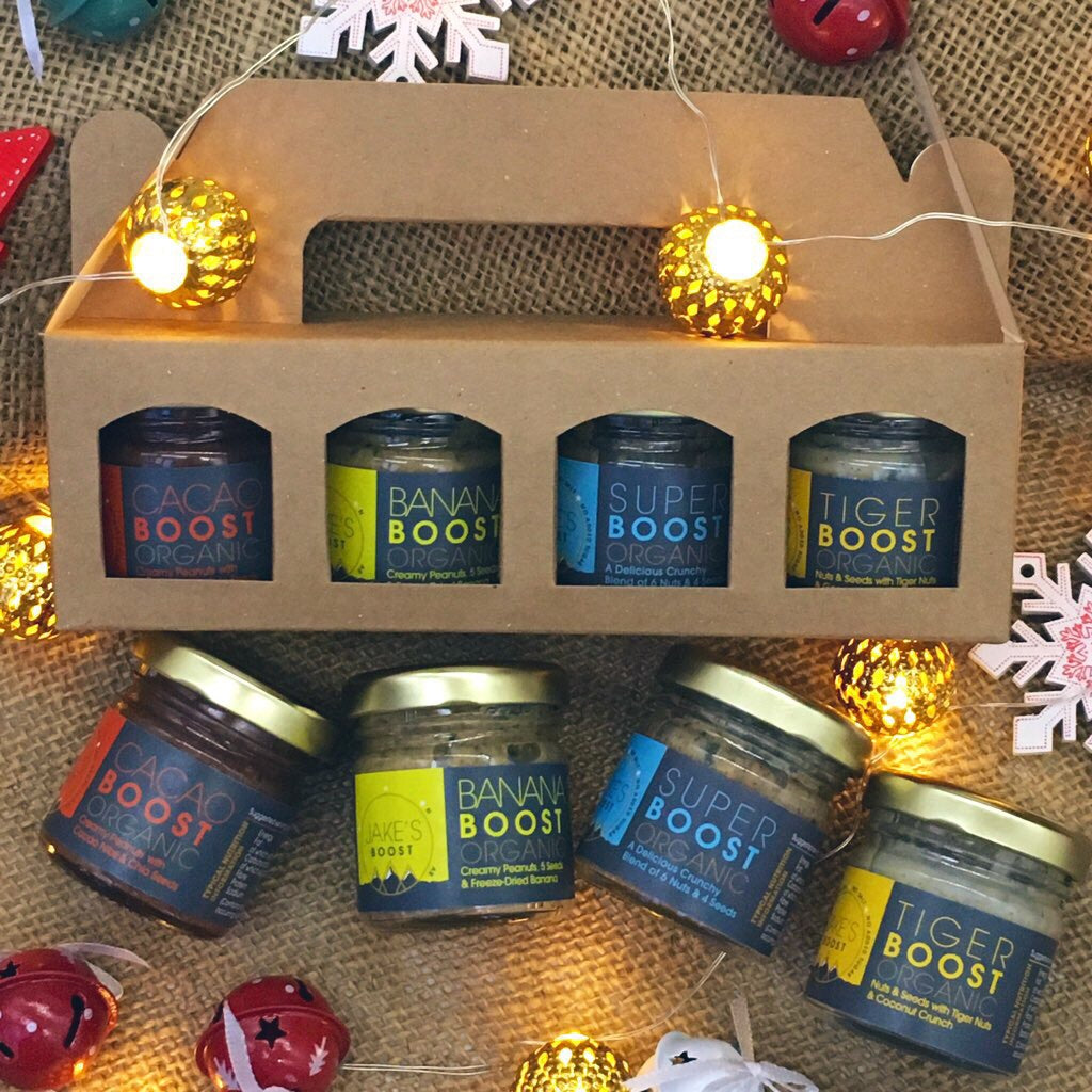 MINI-GIFT PACK- 4 Portion Size Jars Of Our Boost Butters
