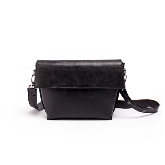 Small symmetrical crossbody bag