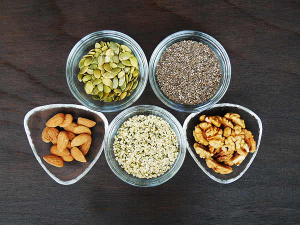 foods with zinc include nuts