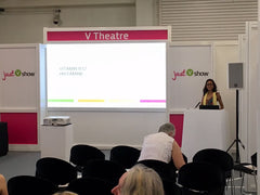 Nutritional Therapist Natasha at Allergy Show London