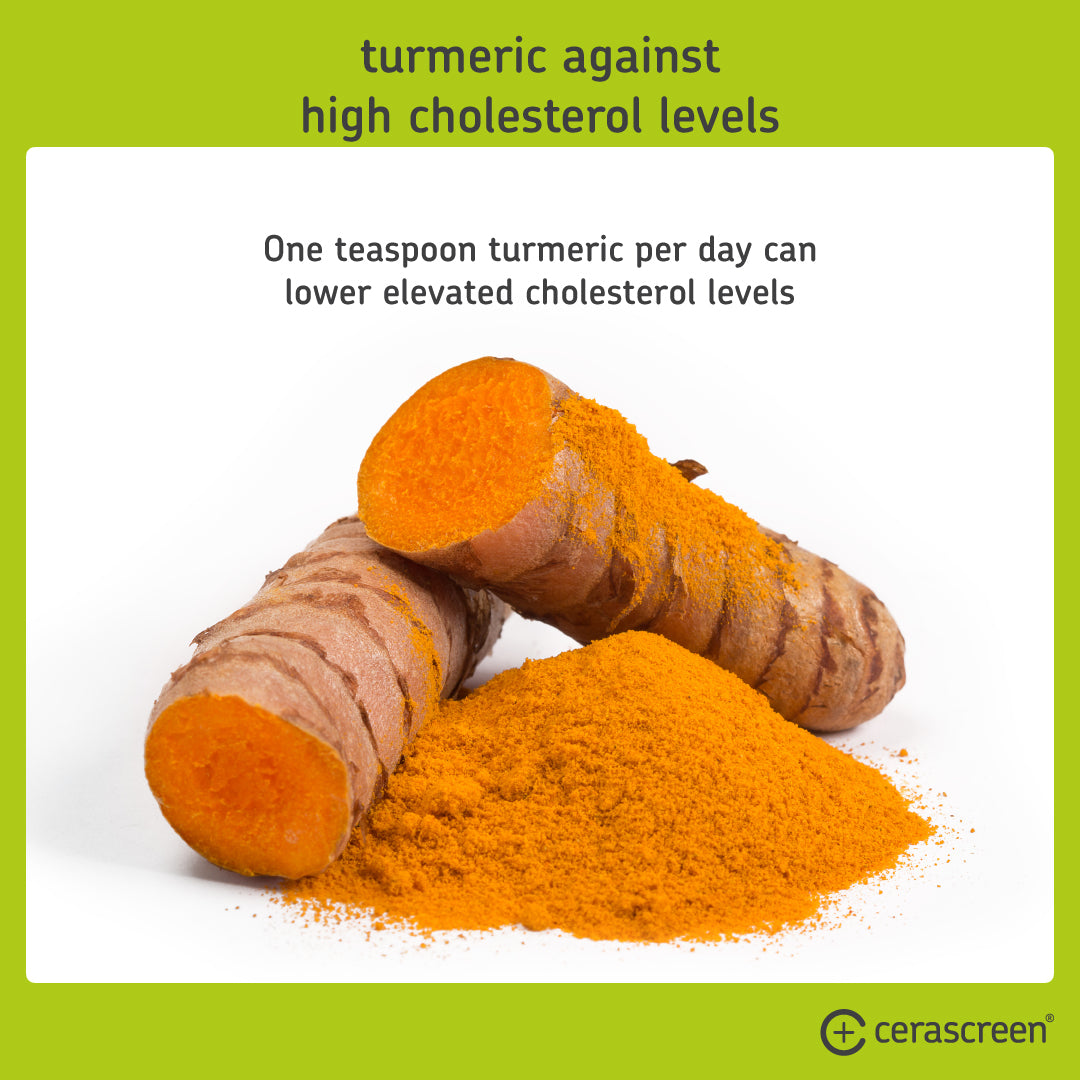 Turmeric for high cholesterol