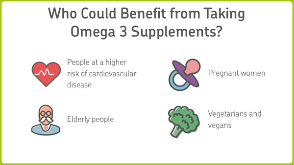 People who should take omega 3 supplements