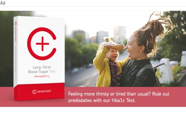 banner to test for normal hba1c level