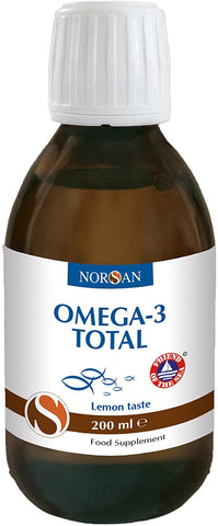 Norsan Omega-3 total oil (lemon) - 200 ml