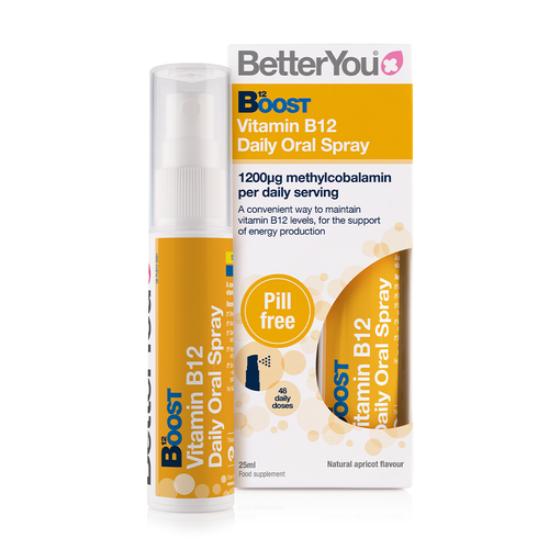 Boost B12 Daily Oral Spray - Double Pack  - 2 x 25 ml