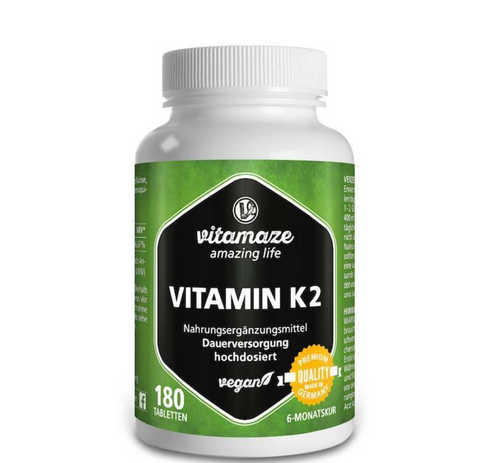 Vitamaze Vitamin K2 - 180 Tablets