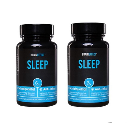 BrainEffect Sleep Melatonin Capsules Double Pack